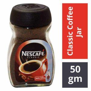 Nescafe Classic Coffee Jar : 50 gms