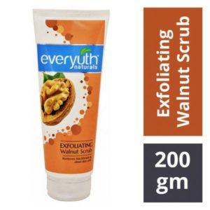 Everyuth Naturals Exfoliating Walnut Scrub : 200 gms