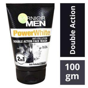 Garnier Men Power White Double Action Facewash : 100 gms