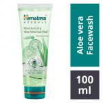 Himalaya Moisturizing Aloe Vera Facewash : 100 ml