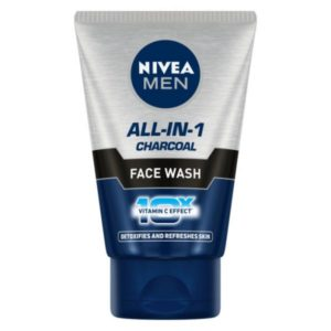 Nivea Men All-In-One Charcoal Facewash : 100 gms