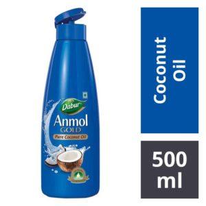 Dabur Anmol Gold Pure Coconut Hair Oil : 500 ml