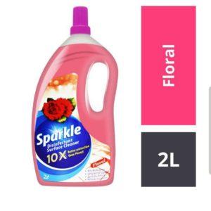 Sparkle  Disinfectant Floor Cleaner – flopral 2 ltr
