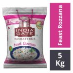 India Gate Basmati Rice – Feast Rozzana 5 kgs