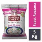 India Gate Basmati Rice – Feast Rozzana 5 kgs