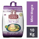 India Gate Mini Mogra Basmati Rice 10 kgs