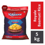 Kohinoor Royale Authentic Biryani Basmati Rice : 5 kgs