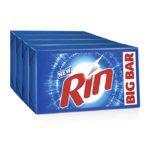 Rin Detergent Bar : 4×250 gms