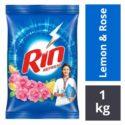 Rin Refresh Lemon & Rose Detergent Powder : 1 kg