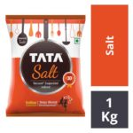 Tata Salt – Evaporated Iodised : 1 kg