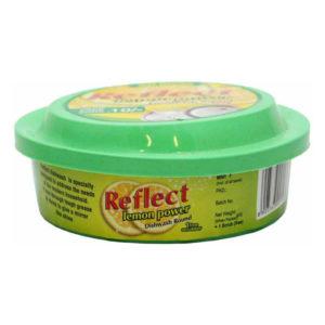 reflect Lemon Powder Dishwash Round Bar 500 grms