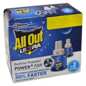 All Out Ultra Day & Night Protection – Refill : 2×45 ml