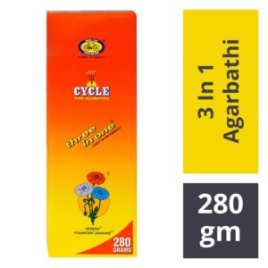 Cycle 3 In 1 Pure Agarbathi : 280 gms