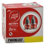 Good Knight Advanced Activ + Refill : 2×45 ml