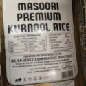 Sona Mansoori Kurnoo, Rice-25 kgs