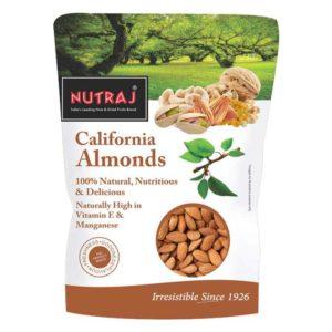 Nutraj California Almonds (Badam) : 500 gms