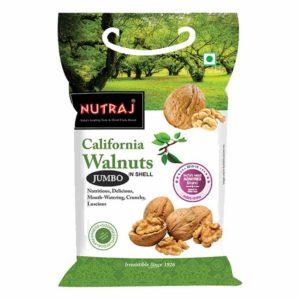 Nutraj California Whole Walnut (Akrod) : 1 kg