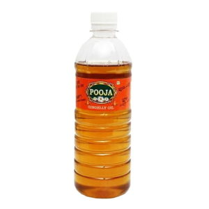 Pooja Branded Gingelly Oil : 1 Litre