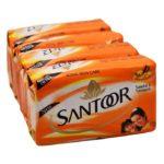 Santoor-Sandal-Turmeric-Soap-4×125-gms