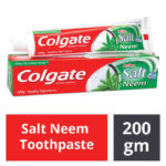 Colgate Active Salt Neem Toothpaste : 200 gms