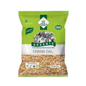 24 Mantra Organic Chana Dal: 500 gm