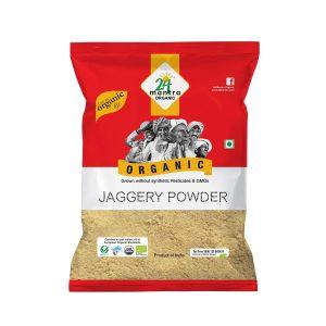 24 Mantra Organic Jaggery Powder: 500 gm