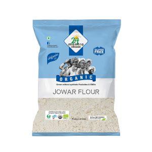 24 Mantra Organic Jowar Flour: 500 gm