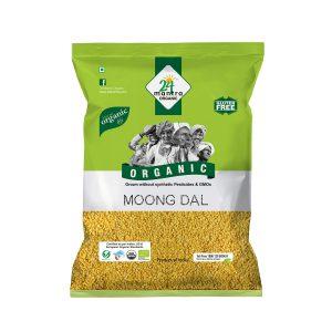 24 Mantra Organic Moong Dal: 500 gm