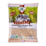 24 Mantra Organic Sonamasuri Brown Rice: 1 kg