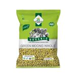 24 Mantra Organic Green Moong Whole: 500 gm