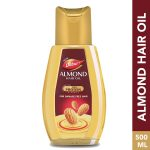 Dabur Almond Hair Oil: 500 ml