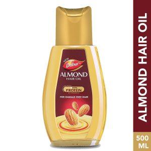 Dabur Almond Hair Oil: 500 ml