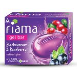 Fiama Blackcurrant & Bearberry Gel Bar 3×125 grm