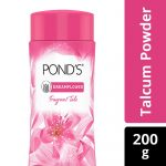 Pond's Dreamflower Fragrant Talcum Powder – Pink Lily: 200 gm