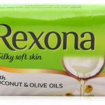 Rexona Coconut & Olive Oil Soap: 150 gm (Pack of 3)