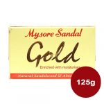 Mysore Sandal Gold Soap: 125 gm
