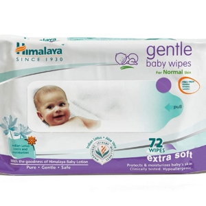 Himalaya Gentle Baby Wipes – 72 Pieces