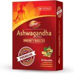 DABUR Ashwagandha Capsules : Immunity Booster – 20 Capsules